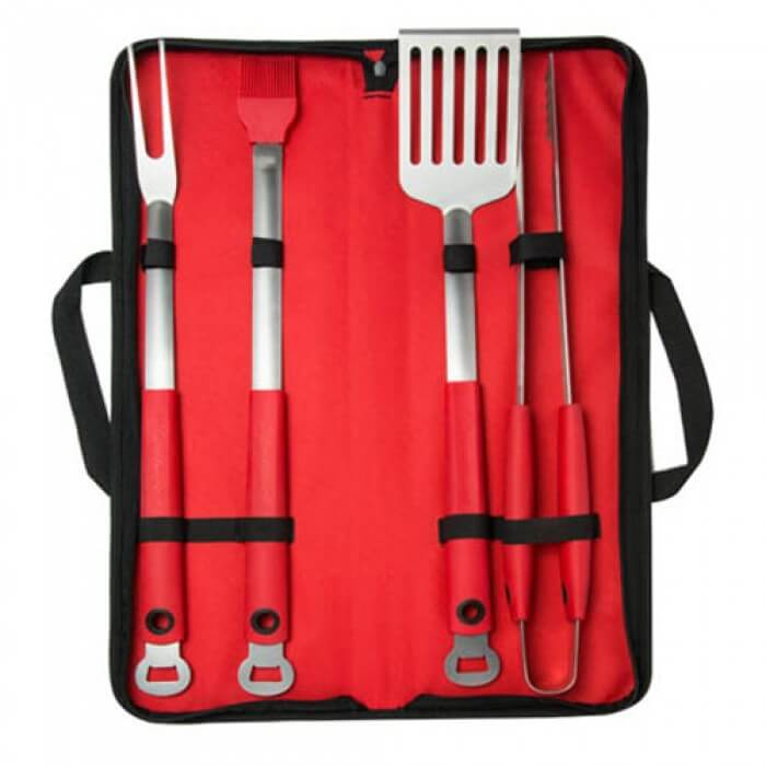 Budweiser Extra Long Grilling Tool Set fro Camerons Products