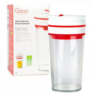 Good Cooking Vaccum Seal Food Canister - 1 Liter from Camerons Products