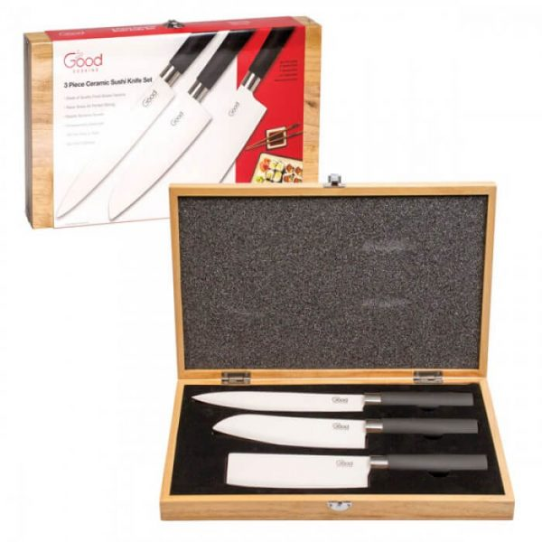 Good Cooking Ceramic Sushi Knife Set from Camerons Products