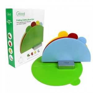 Good Cooking Set of 4 Folding Cutting Boards - Curved from Camerons Products