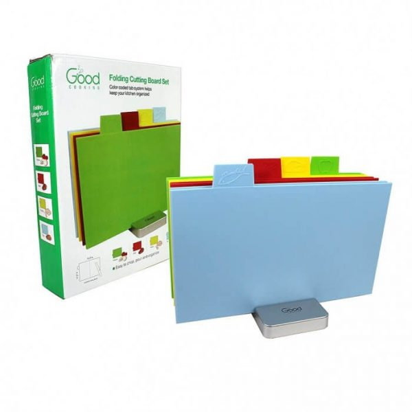 Good Cooking Set of 4 Folding Cutting Boards - Rectangle from Camerons Products
