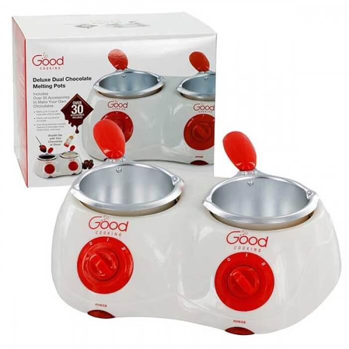 Good Cooking Deluxe Dual Chocolate Melting Pot from Camerons Products