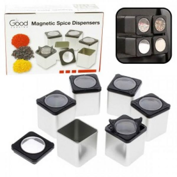 Good Cooking Magnetic Spice Dispensers - 6 Pack from Camerons Products