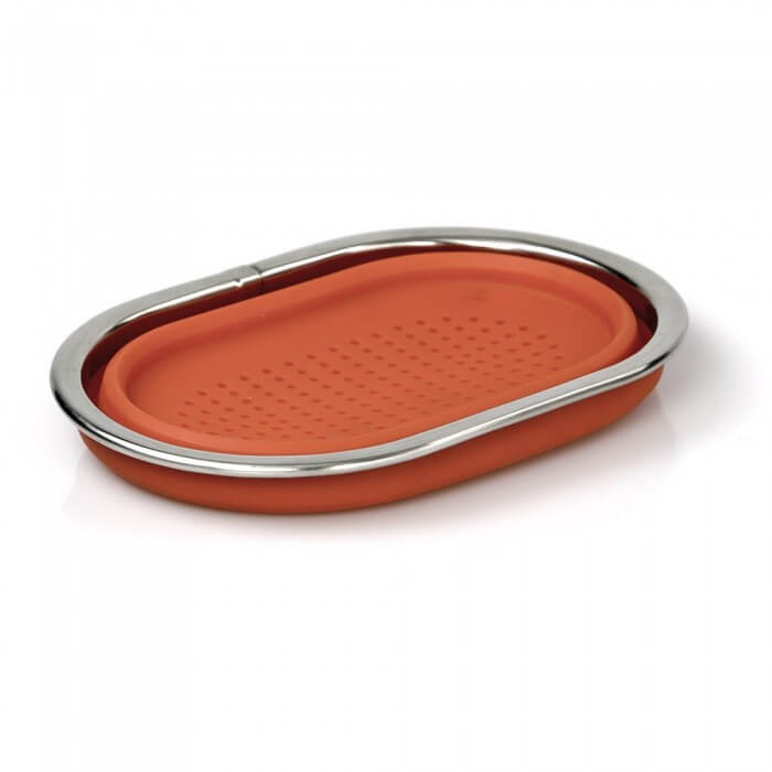 ... Good Cooking Over Sink Cutting Board With Collapsible Colander From  Camerons Products