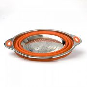 Good Cooking Silicone & Stainless Collapsible Colander from Camerons Products