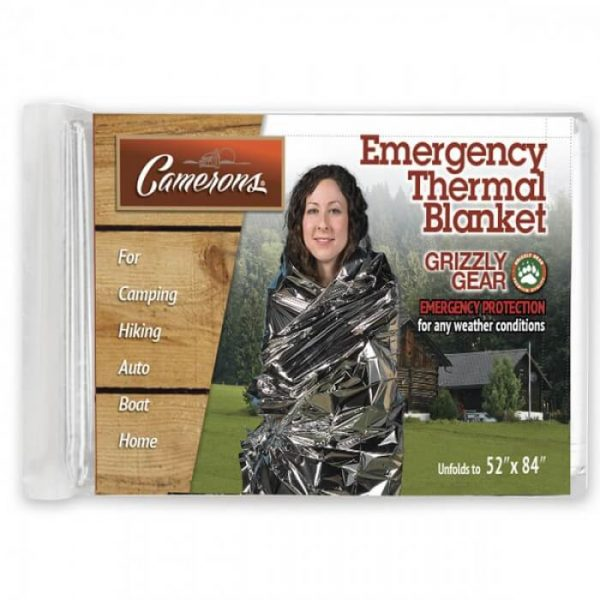Grizzly Gear Emergency Thermal Blanket from Camerons Products