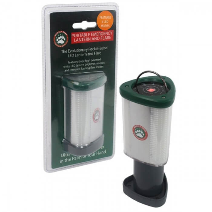 Grizzly Gear Portable LED Emergency Lantern and Flare from Camerons Products