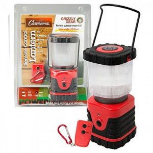 Grizzly Gear Battery Powered Emergency Lantern with Dual Mode Remote Control and Compass from Camerons Prodcuts