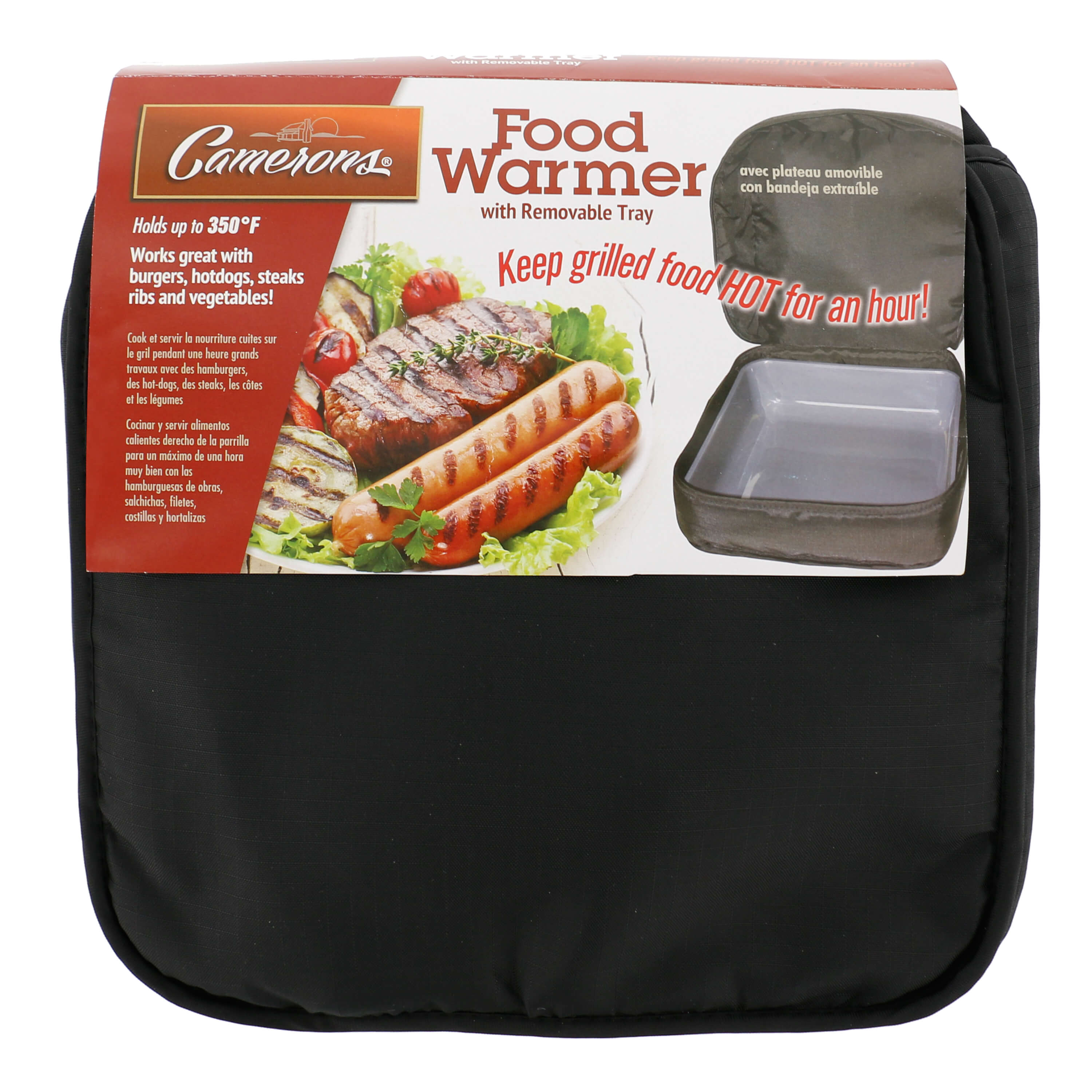Keep Food Warmer ~ Food warmer with pan from camerons products