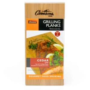 Grilling Planks - Cedar 4 Pack from Camerons Products