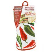 "12"" Tortilla Warmer - Peppers from Camerons Products"