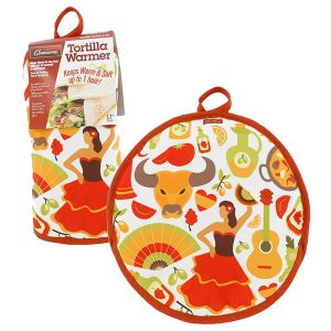 "12"" Tortilla Warmer - The Lady from Camerons Products"