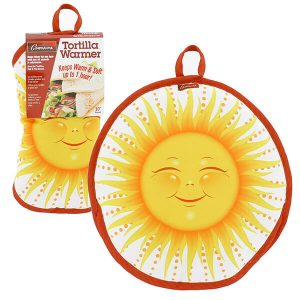 "10"" Tortilla Warmer - Sun from Camerons Products"