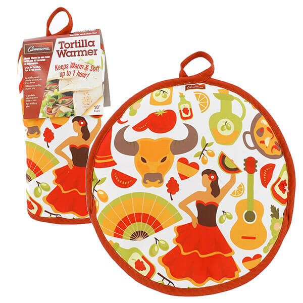 "10"" Tortilla Warmer - The Lady from Camerons Products"