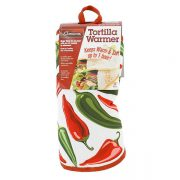 "10"" Tortilla Warmer - Peppers from Camerons Products"