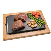 Good Cooking Steak Stone Deluxe Serving Set from Camerons Products