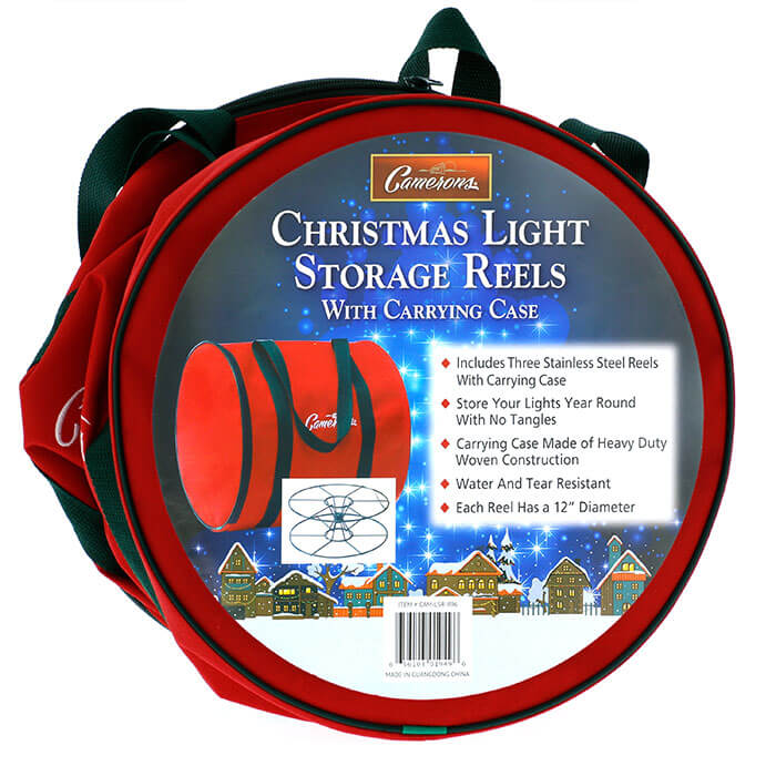 christmas light storage reels from camerons products - Christmas Light Storage Reels