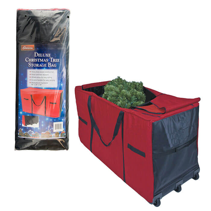 Christmas Tree Storage Bag with Wheels, from Camerons Products