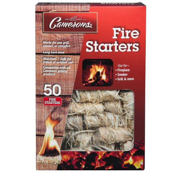 Camerons Fire Starters Set of 50